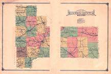 Jackson County Map, Jackson County 1914